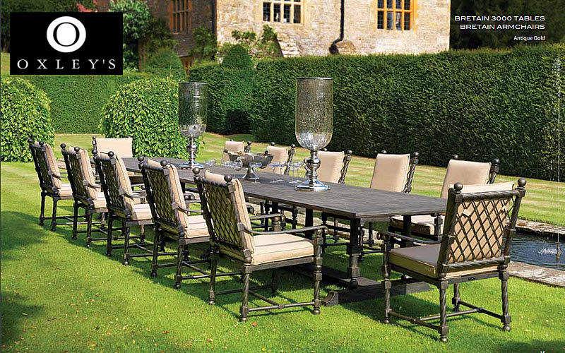 Oxley's Salle à manger de jardin Tables de jardin Jardin Mobilier Jardin-Piscine | Charme