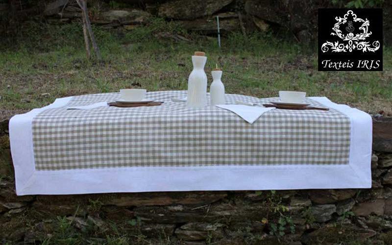 Texteis Iris Nappe rectangulaire Nappes Linge de Table    Charme