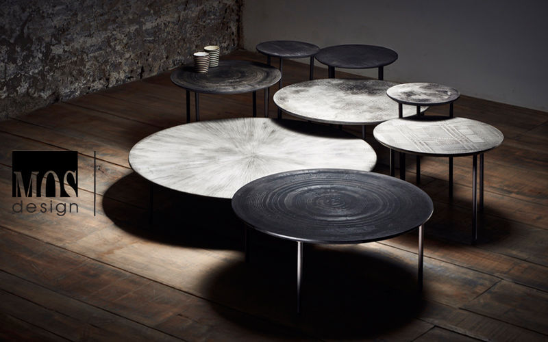 MOS DESIGN Table basse ronde Tables basses Tables & divers  |
