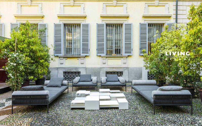 Living Divani Canapé de jardin Salons complets Jardin Mobilier  |