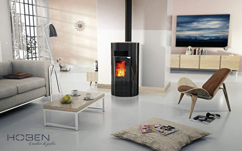 po le granul s pellets po les foyers inserts decofinder. Black Bedroom Furniture Sets. Home Design Ideas