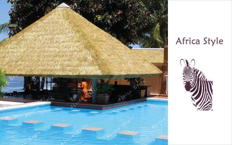Africa Style Gazebo Tentes Jardin Abris Portails...  |