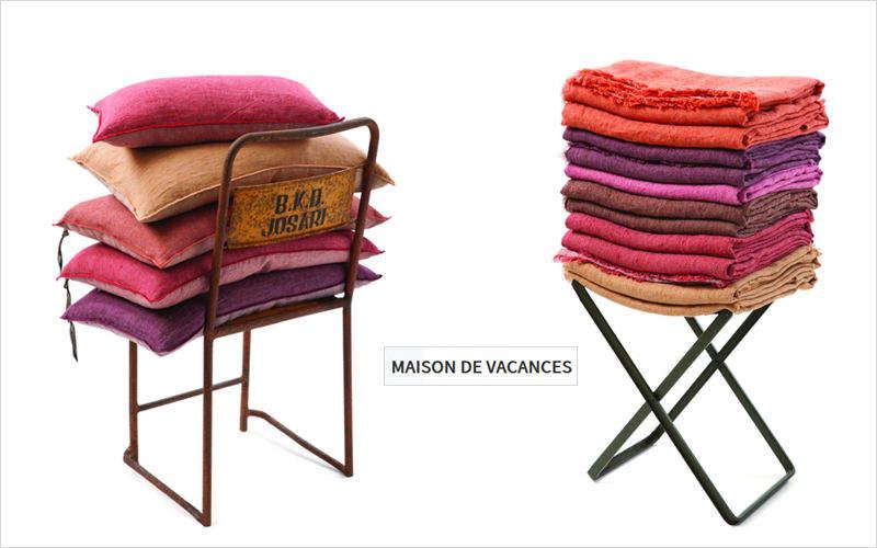 Maison De Vacances Coussin rectangulaire Coussins Oreillers Linge de Maison  |