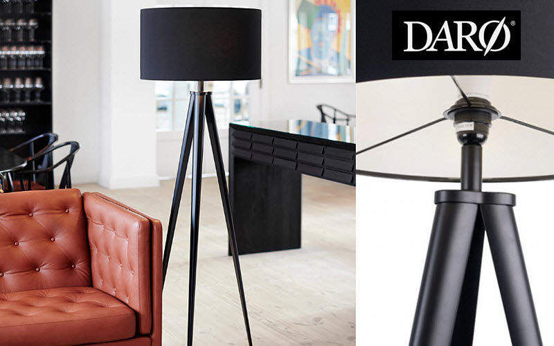 DAR Lampadaire trépied Lampadaires Luminaires Intérieur  |