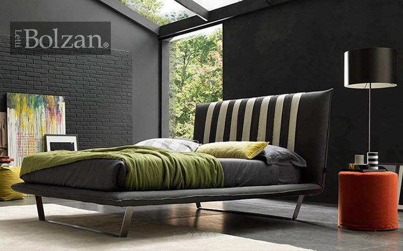 BOLZAN Letti Lit double Lits doubles Lit Chambre | Design Contemporain