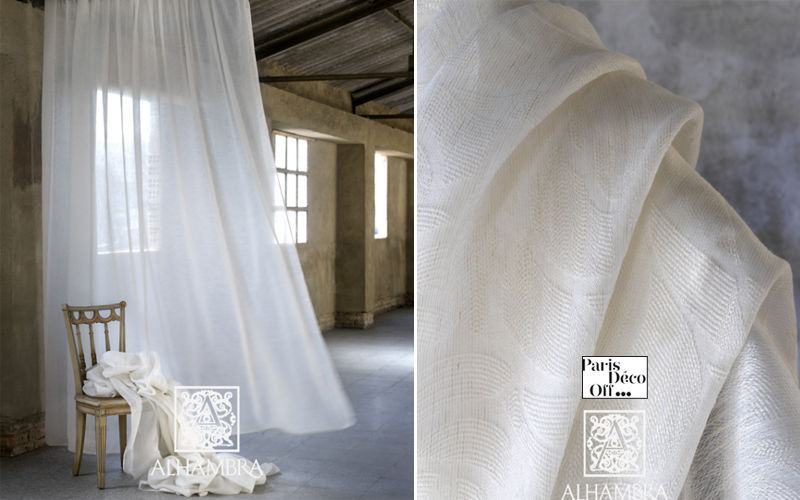 Alhambra Voilage Voilages Tissus Rideaux Passementerie  |