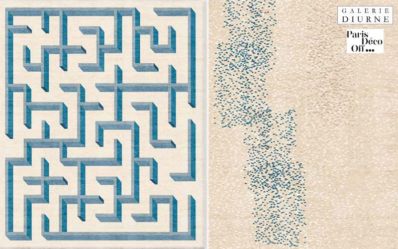 Diurne Tapis contemporain Tapis modernes Tapis Tapisserie  |