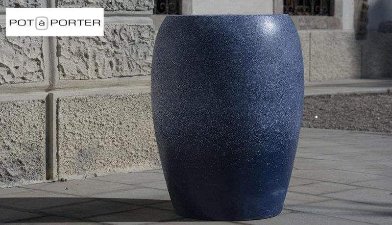 POT À PORTER Jarre Pots de jardin Jardin Bacs Pots  |