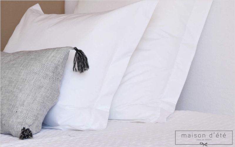 MAISON D'ETE Taie d'oreiller Coussins Oreillers Linge de Maison  |