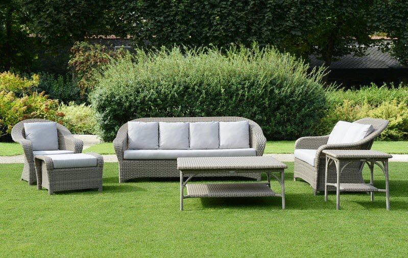 Tectona Salon de jardin Salons complets Jardin Mobilier  |