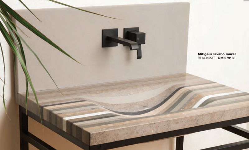 Cristina Ondyna Mitigeur de lavabo mural Robinetterie Bain Sanitaires  |