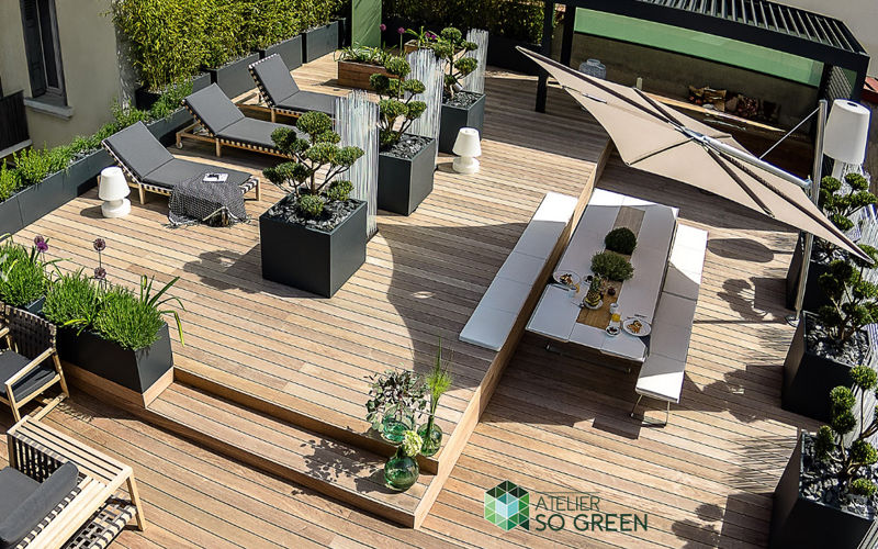 IMAGE'IN by ATELIER SO GREEN Bac à arbre Bacs Jardin Bacs Pots  |
