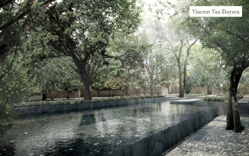 VINCENT VAN DUYSEN Jardin paysager Jardins réalisations Extérieur Divers  |
