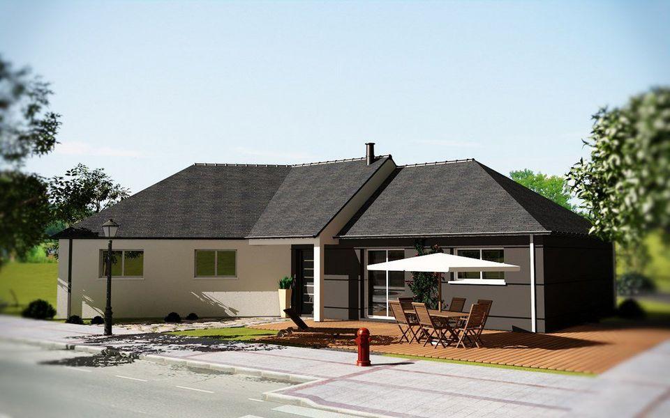 CREACTUEL Maison de plain-pied Maisons individuelles Maisons individuelles  |