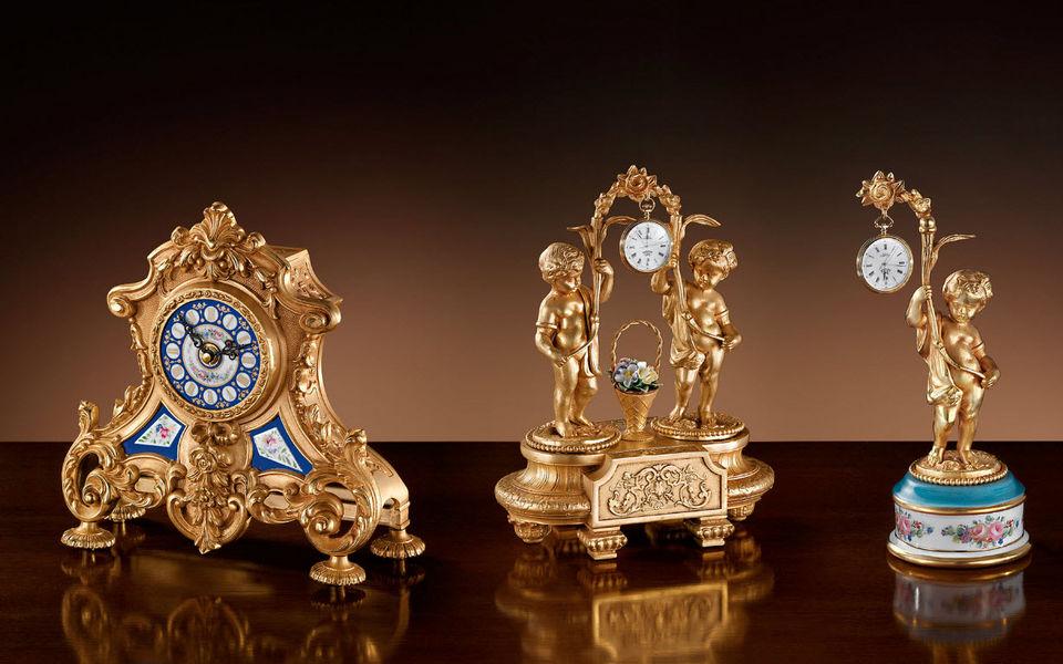 Fbai Horloge à poser Horloges Pendules Réveils Objets décoratifs  |