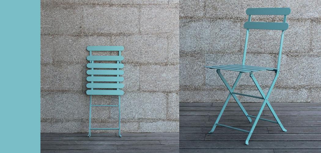 ADICO Chaise de jardin pliante Chaises de jardin Jardin Mobilier  |