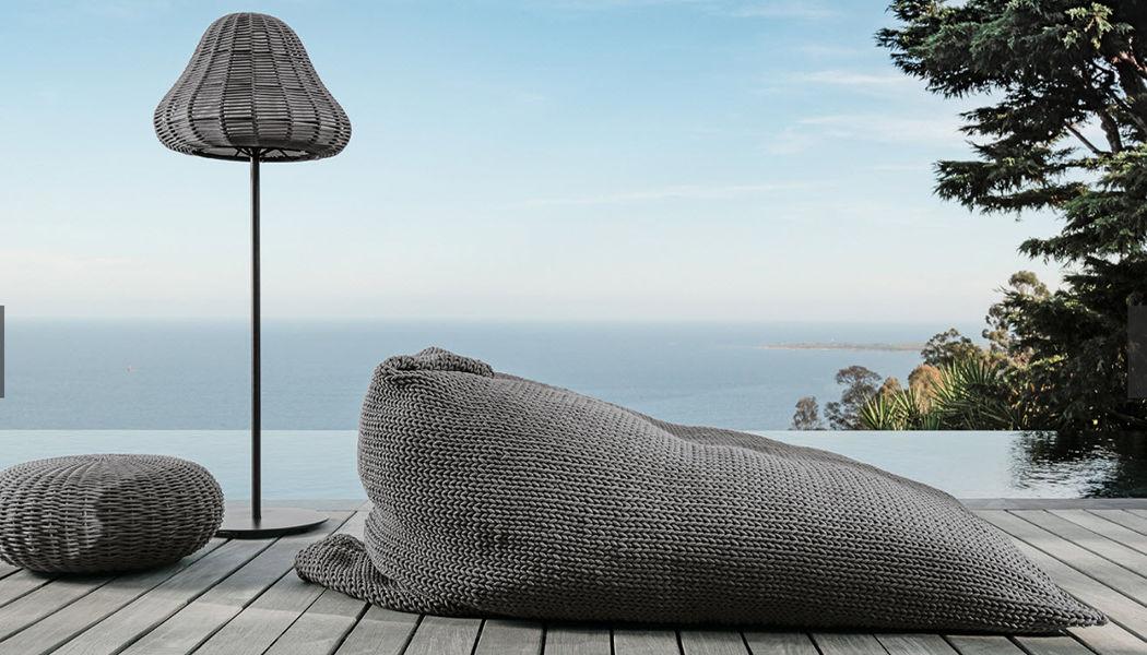 ITALY DREAM DESIGN Pouf d'extérieur Divers mobilier de jardin Jardin Mobilier Jardin-Piscine | Design Contemporain