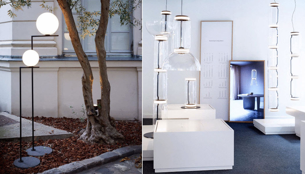 FLOS Lampadaire de jardin Réverbères lampadaires Luminaires Extérieur  |