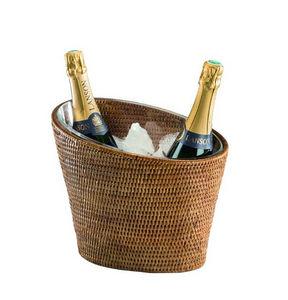 ROTIN ET OSIER - Seau à champagne