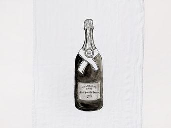 SERIE LIMITE LOUISE - champagne - Torchon