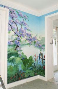 Fabienne Colin - tropical - Fresque