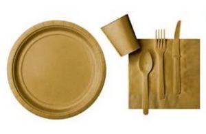 Bazdis Fetes Par Fetes.com Assiette en carton