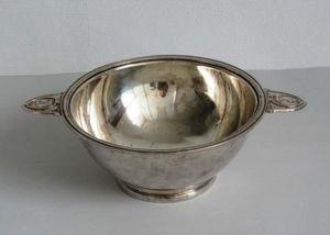 JD PRO - saladier ercuis pour la marine en métal argenté - Saladier