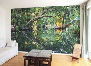 Ohmywall - papier peint natural mystic - Papier Peint Panoramique