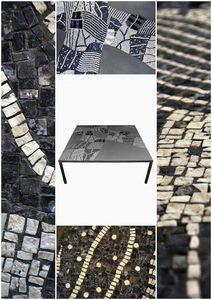 ATELIER JS MOSAIC -  - Table Basse Carrée