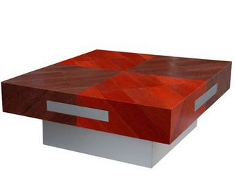 Christophe Fey Concept -  - Table Basse Carrée