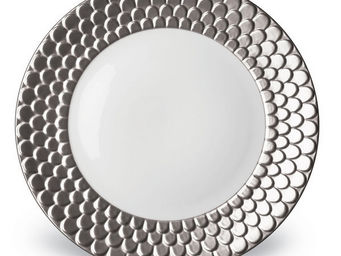 L'OBJET - aegean platinum dinnerware - Assiette Plate