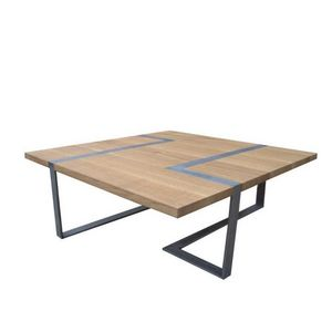 ATELIER MOBIBOIS - table basse vakt - Table Basse Forme Originale