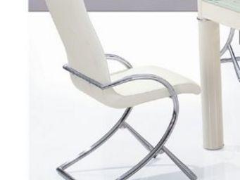CLEAR SEAT - chaises boreal blanc lot de 6 - Chaise