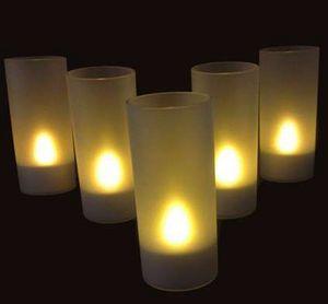 SUNCHINE - 6 bougies led rechargeables - Bougie Led