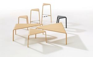 Arper - ply collection - Table Basse Forme Originale
