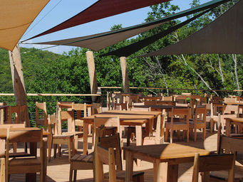 Atelier CHATERS�N - 100chaises - Table Bistrot