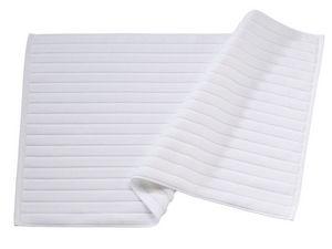 BLANC CERISE - tapis de bain - coton peigné 1000 g/m² - Drap De Bain
