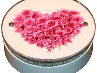 AVISSUR - coeur de rosée - Alarme Détecteur De Fumée