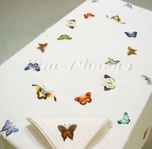 Kim Phuong - buutteflies - Nappe Rectangulaire