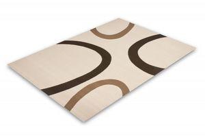 NAZAR - tapis contempo 60x110 ivory - Tapis Contemporain