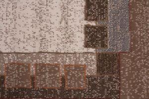 NAZAR - tapis contempo 80x250 caramel - Tapis Contemporain