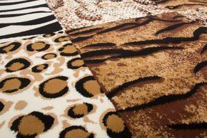 NAZAR - tapis contempo 160x230 beige - Tapis Contemporain