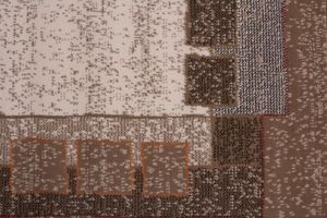 NAZAR - tapis contempo 240x330 caramel - Tapis Contemporain