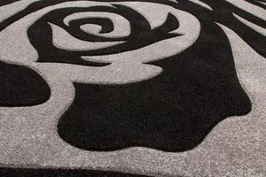 NAZAR - tapis havanna carving 80x150 silver - Tapis Contemporain