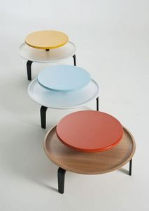 LORENZ+ KAZ -  - Table Basse Ronde