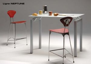 Mobilier Carrier - neptune - Chaise Haute De Bar