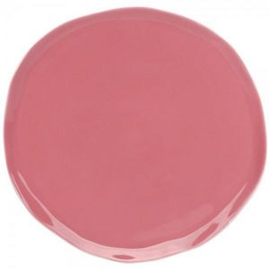La Chaise Longue - assiette nymphea rose - Assiette Plate