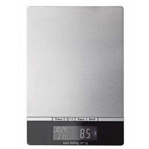 Delta - balance électronique grise - Balance De Cuisine Électronique