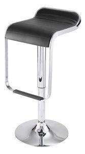 ID'CLIK - tabouret de bar maud noir 36x45x87cm - Chaise Haute De Bar