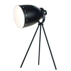 Delta - lampe de table métal - couleur - noir - Lampe À Poser